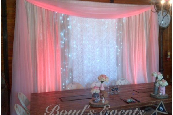 Boyd's events pipe and drape