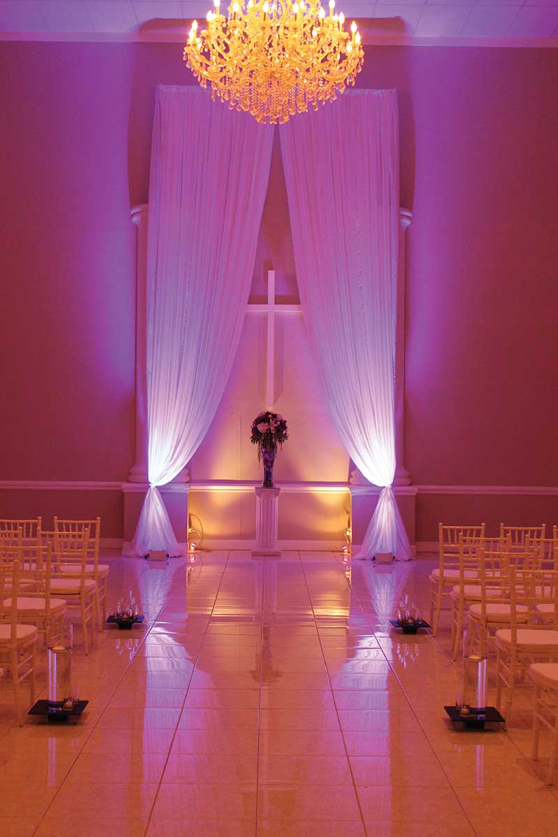 drapery for events